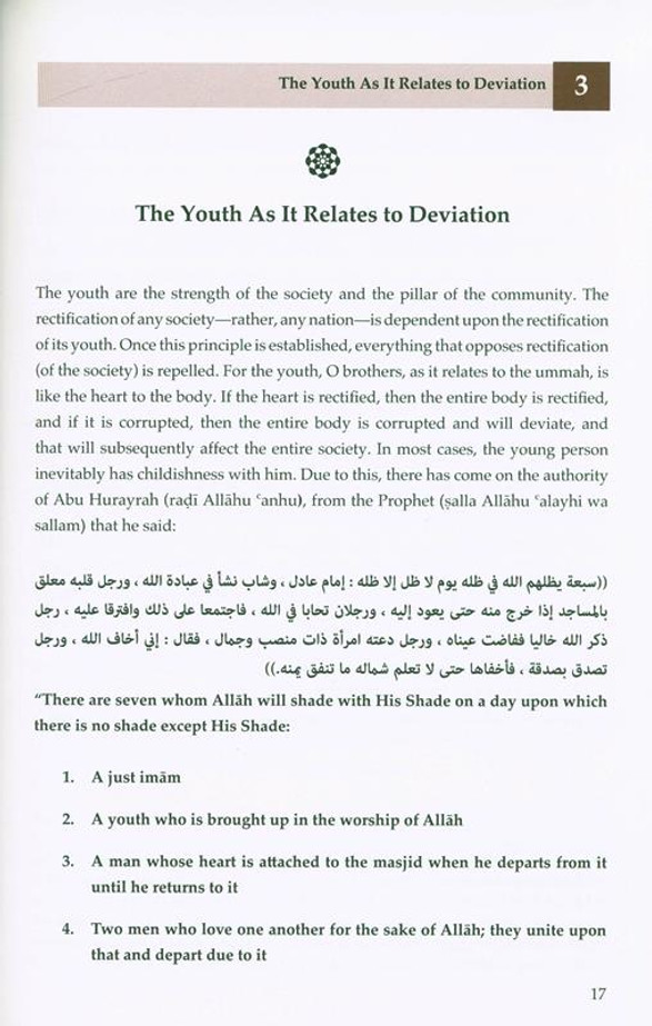 The Deviation Of The youth :Its Causes And The Means To Remedy It, 9781927012321