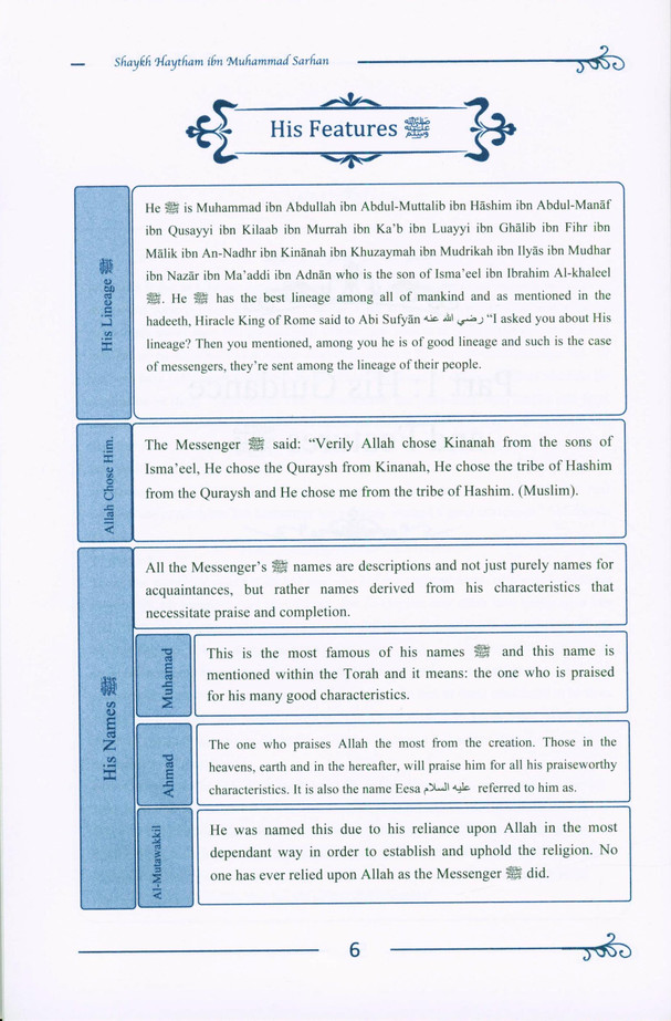 A Concise Biography Of The Prophet ﷺ And His Special Traits (24901)
