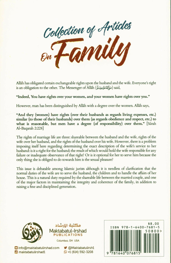 Collection of Articles on Family (24915)