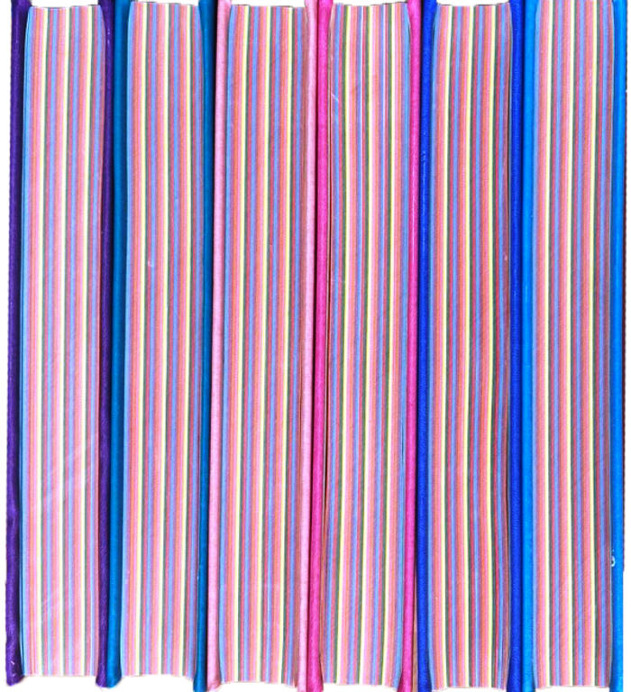 Rainbow Quran in new beautiful different Leather Cover Medium 14x20 cm