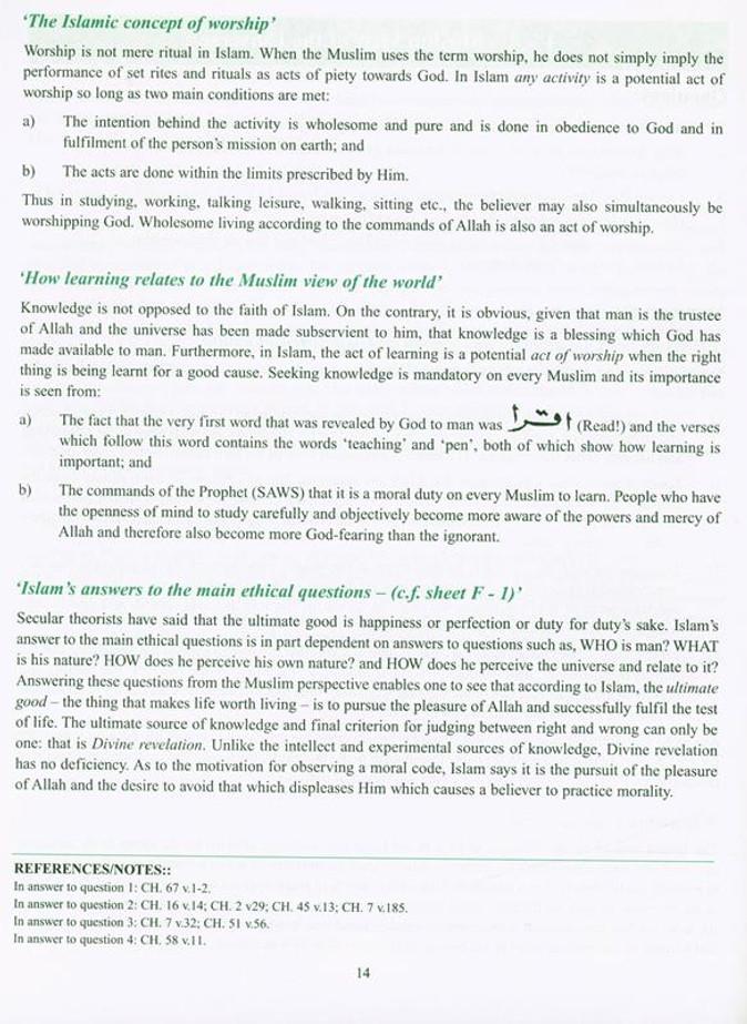 Islamic Teachings Course Vol-2 (21157)