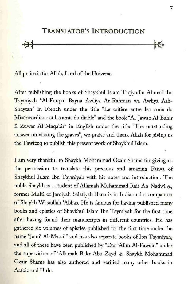 The Fatawa Regarding The Gawth' Qutb' Abdal And Awtad