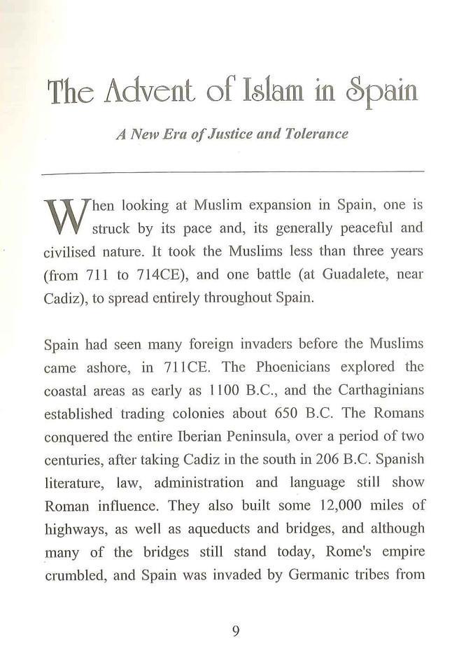 Muslim Civilisation In Spain