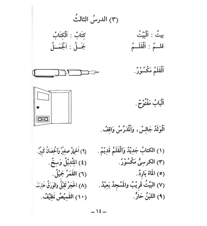 Arabic Course for English Speaking Students 1