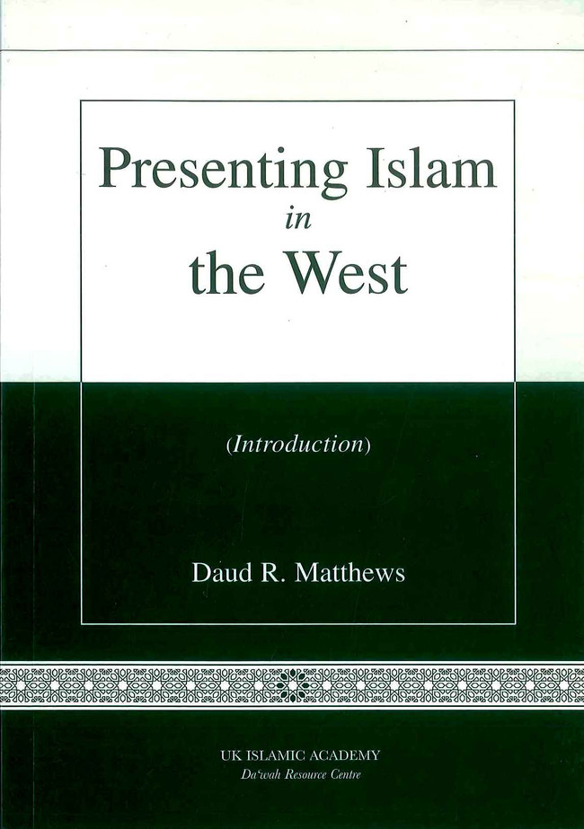 Presenting Islam in the West