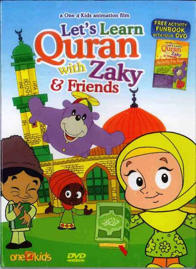 Let's Learn Quran With Zaky and Friends DVD