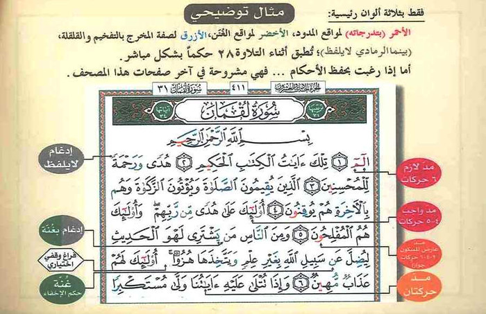 Tajweed Quran in 30 Parts Leather Case Pocket Plus 8x12 cm