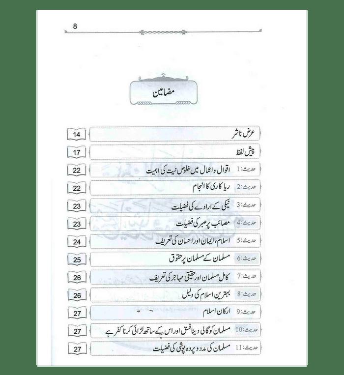 Nukhbatul Sahiheen Urdu / نُخبتُه الصّحِیحَین اردو