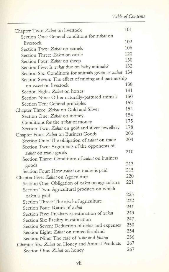 Fiqh az Zakat : A Comparative Study