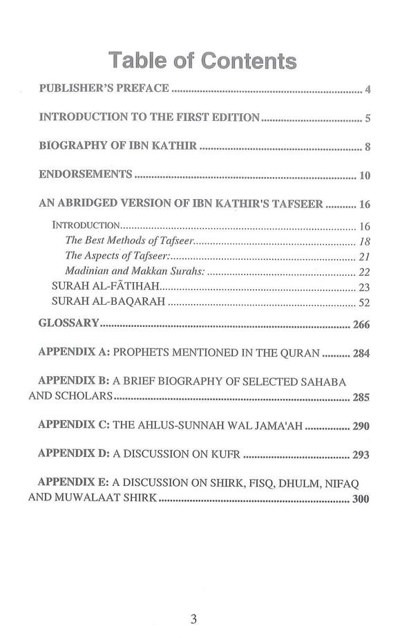 Tafsir Ibn Kathir Part-1 By Al-Firdous Ltd