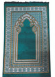 Prayer Rug Luxury Padded with Turkish cutwork design
