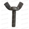 Screw M5-.8 x 20mm wing stainless steel 999-1655