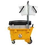 Omniflex Trolley bucket YELLOW