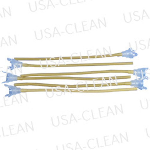 Latex connector tube (pkg of 6) 592-0225