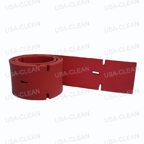 Squeegee blade 20 inch linatex front 994-0098