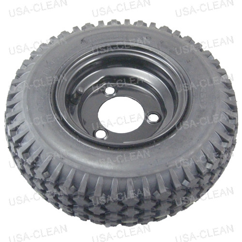Tire and rim assembly (black) 175-2383
