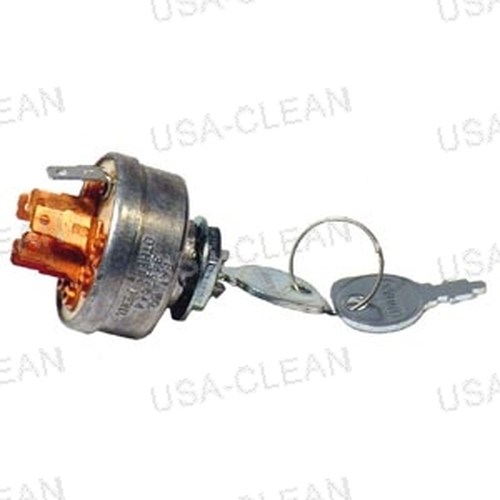 Starter switch with ground prong (2 keys) 154-0319