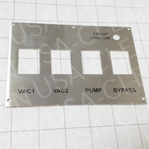 Switch plate 209-6125