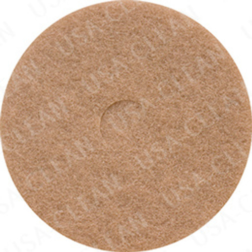 13 inch premium tan polishing pad (pkg of 5) 255-1352