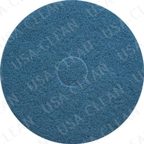 15 inch premium blue cleaning pad (pkg of 5) 255-1570