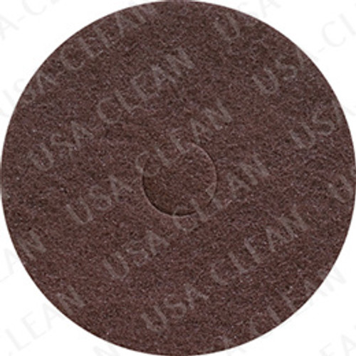 16 inch premium brown stripping pad (pkg of 5) 255-1692