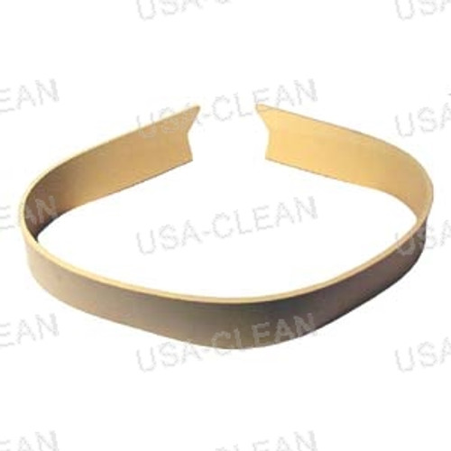 Squeegee blade 33 inch curved rear gum rubber (tan) 164-1186