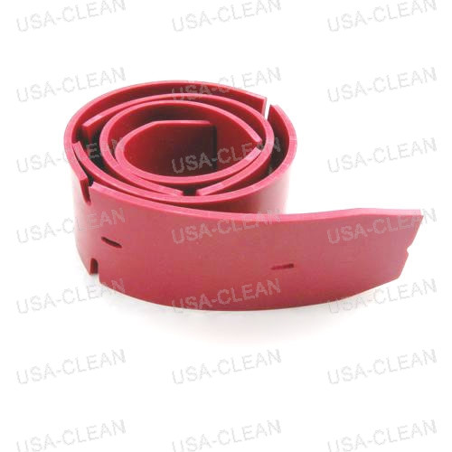 Squeegee blade front linatex red 35 inch - 11 hole 173-7375