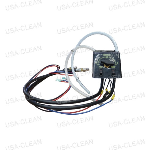 Electrical box and chemical line assembly (2 2-way switches) 225-0011