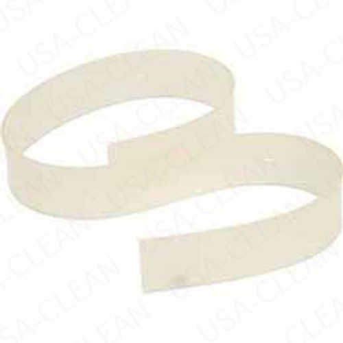 Squeegee blade rear urethane curved white 38 inch 175-2822