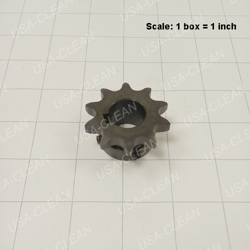 10 toothed sprocket with set screw 164-0176