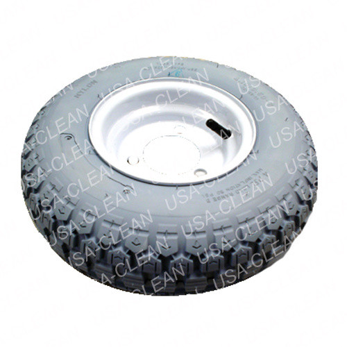 Foam tire assembly with 3 holes 991-5127