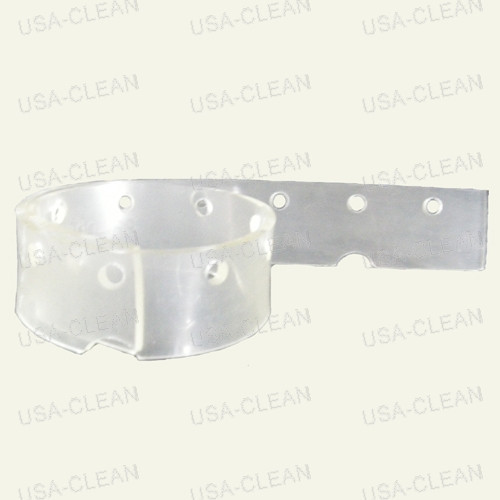Squeegee blade front notched (clear) 292-0059