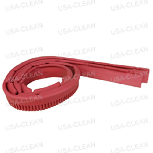 Squeegee blade 32 inch linatex kit (red) (front and rear) 164-0041
