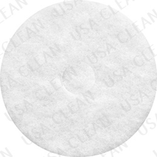 18 inch premium white polishing pad (pkg of 5) 255-1820