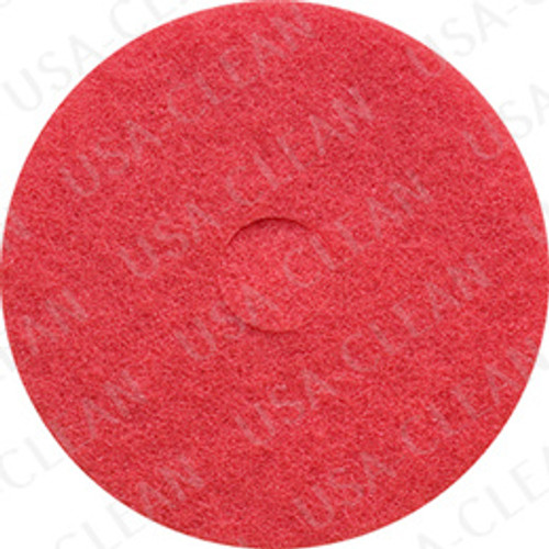 20 inch premium red scrubbing pad (pkg of 5) 255-2060