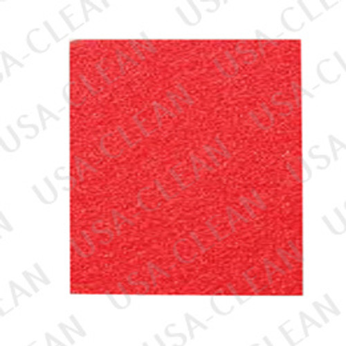 14 x 32 inch Premium Red Pad (pkg of 5) 255-9024