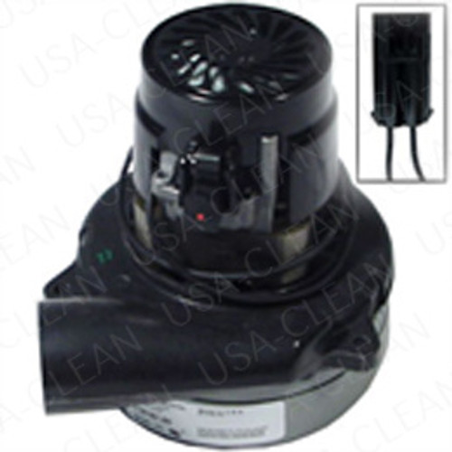 24V 2 stage vacuum motor tangential with Packard plug 991-1203-P