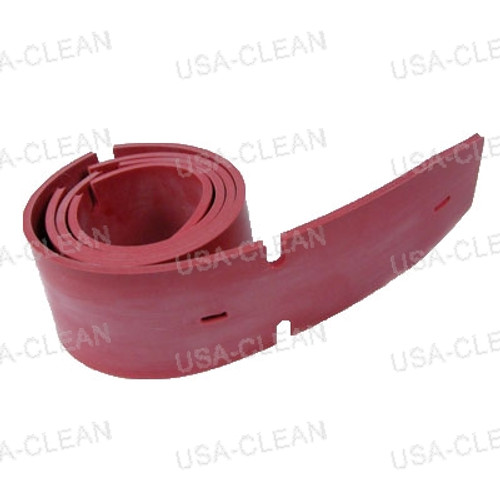 Squeegee blade 36 inch gum rubber front 173-8460