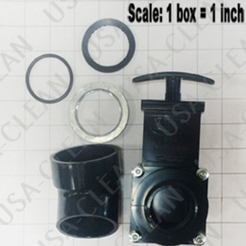 Drain gate assembly 209-0271