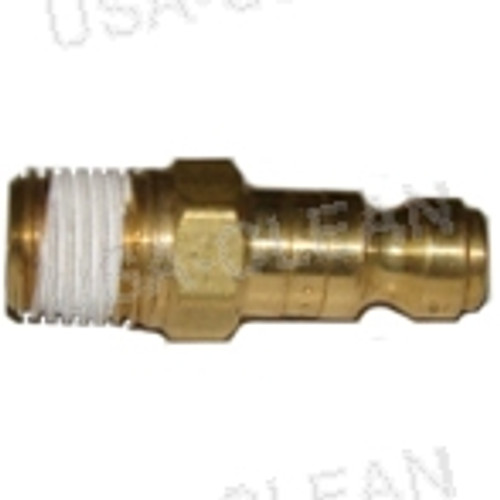 "B2C, 1/4"" mpt, male nipple, mate to QD50 or QD55 991-8144"