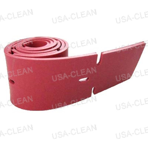 Squeegee blade 20 inch linatex front 175-7958