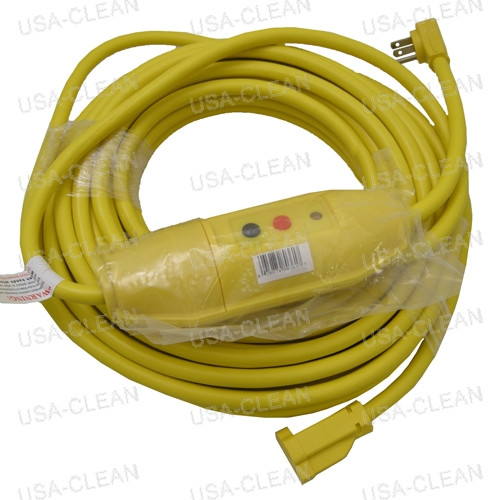 50 foot extension cord with GFCI (yellow) 225-0020