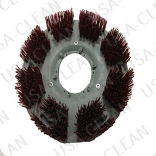 Stripping brush with lugs 154-0526