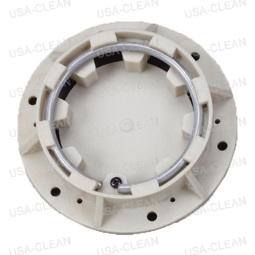 Clutch plate with brush holder spring 996-0336