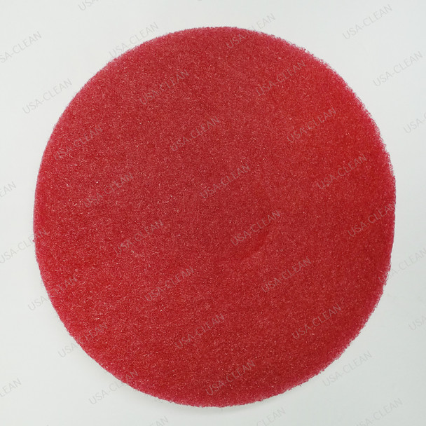 13 inch buffing pad (red) 175-8618