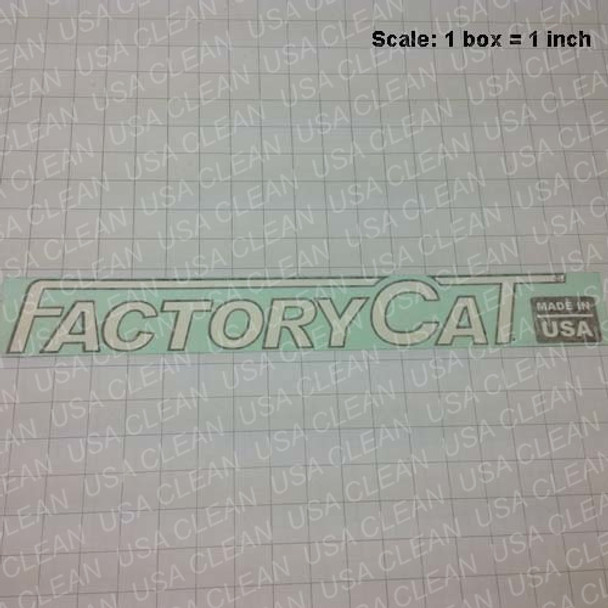 Tomcat front decal 202-0436