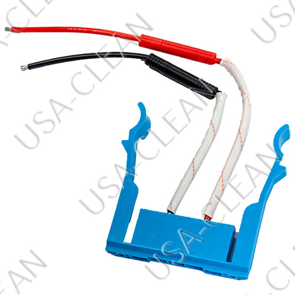 Left hand battery connector (blue) 375-4163