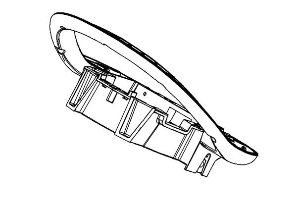 Bottom handle housing 275-5437