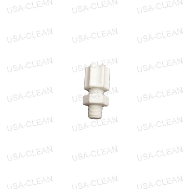 1/8 inch male connector with nut 175-1650