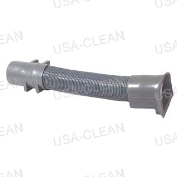 Vacuum hose assembly with two cuffs 175-0116
